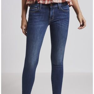 Current/Elliot The Stiletto skinny low rise jean